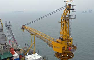 ConocoPhillips China Bohai Bay Phase II (WHP-C) North Crane